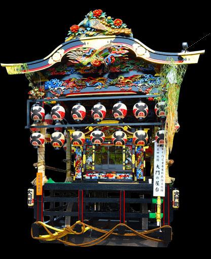 世良田祇園屋台